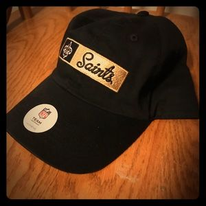 Women's New Orleans Saints Hat! New with tags!